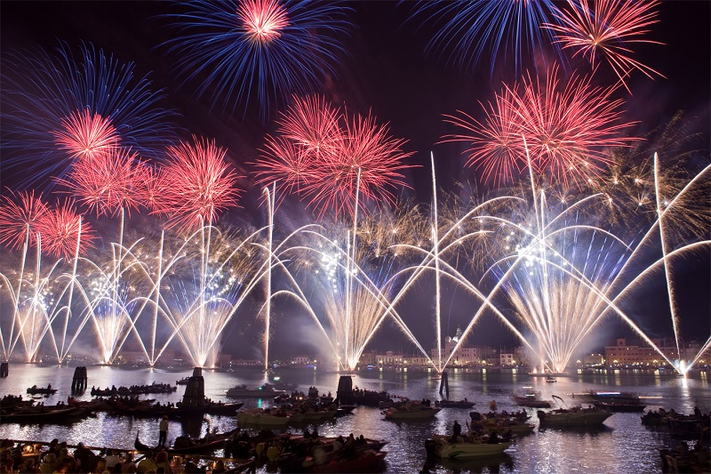 Venice Festa del Redentore Fireworks