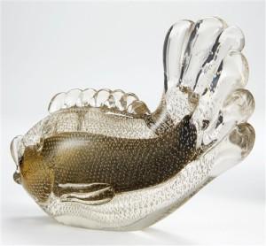 Murano Glass Fish Bullicante