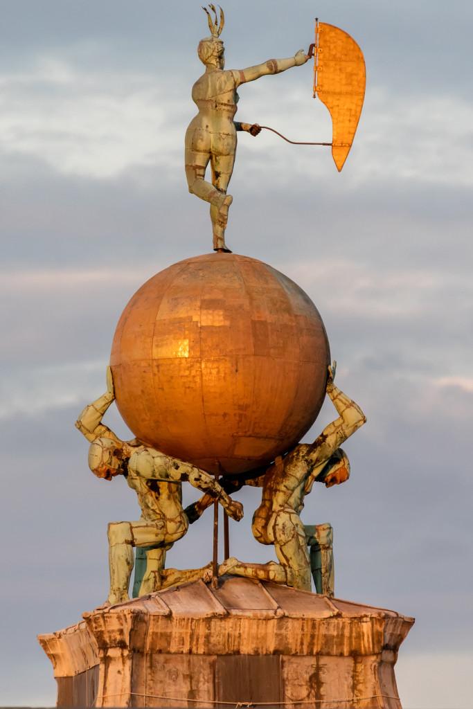Punta della Dogana Sculpture in Venice