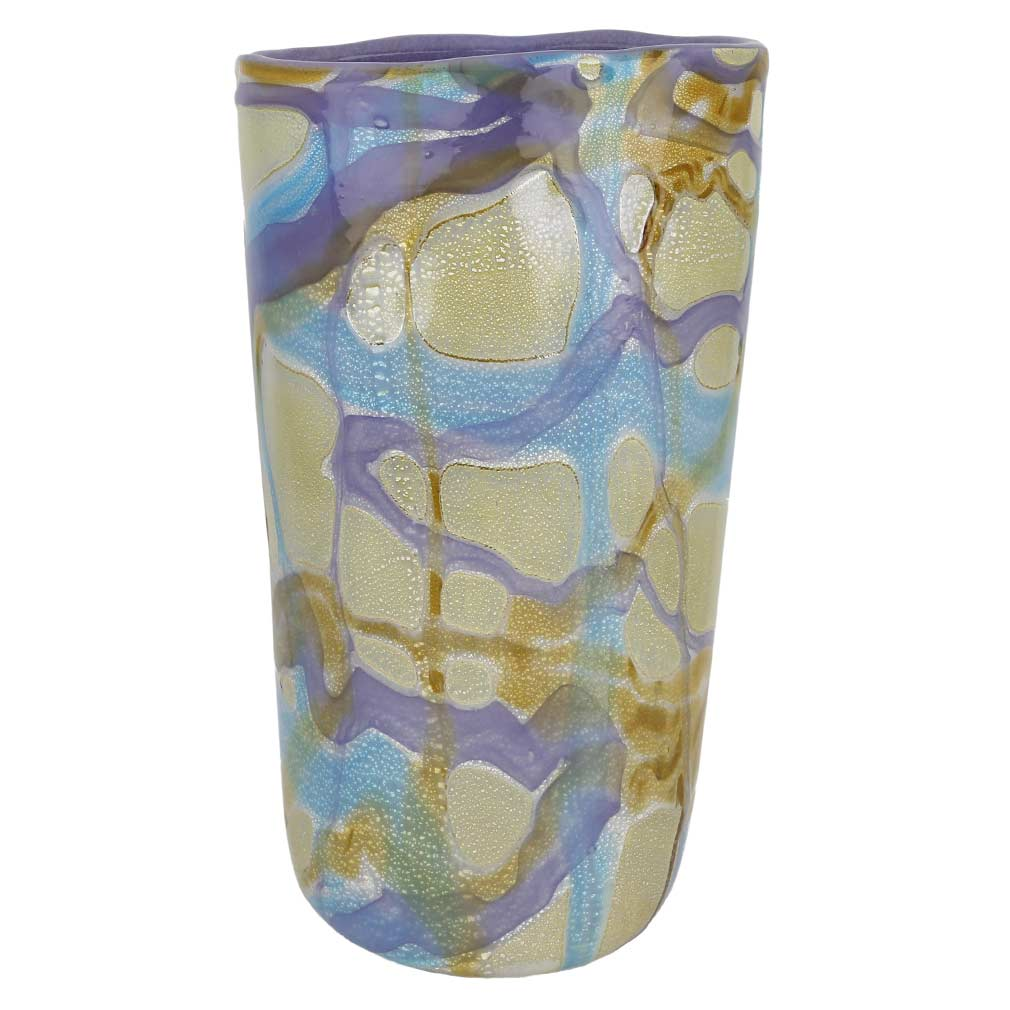 Murano Glass Shimmering Sea Vase
