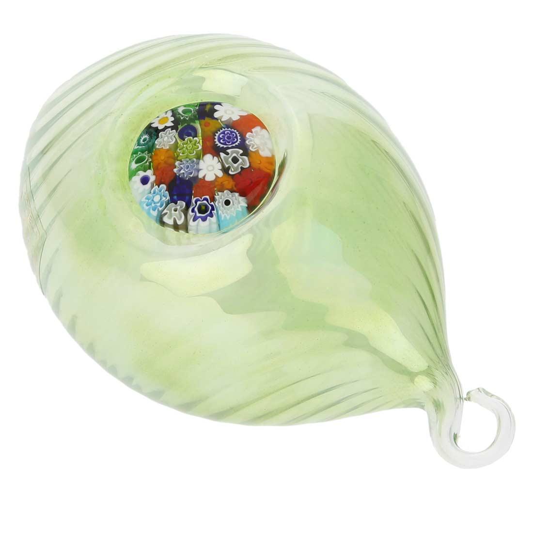 Murano glass christmas gifts murano glass millefiori - Murano glass ornaments italy ...