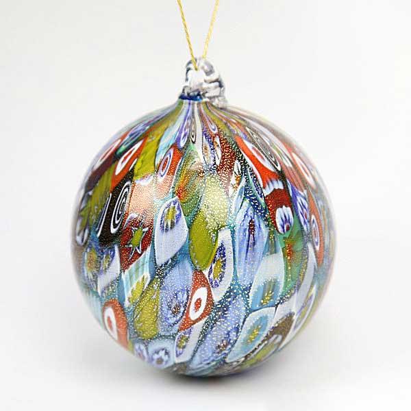 Christmas tree ornaments murano glass ornament