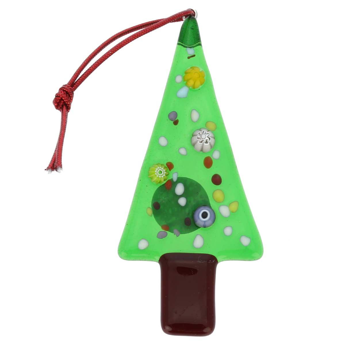 Murano glass christmas tree ornament - Murano glass christmas tree ...