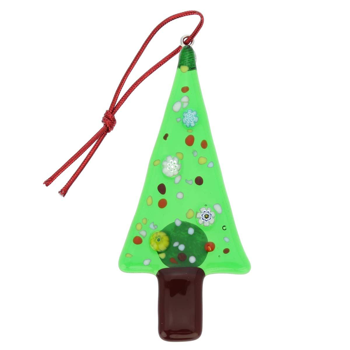 Murano glass christmas tree ornament - Murano glass ornaments italy ...