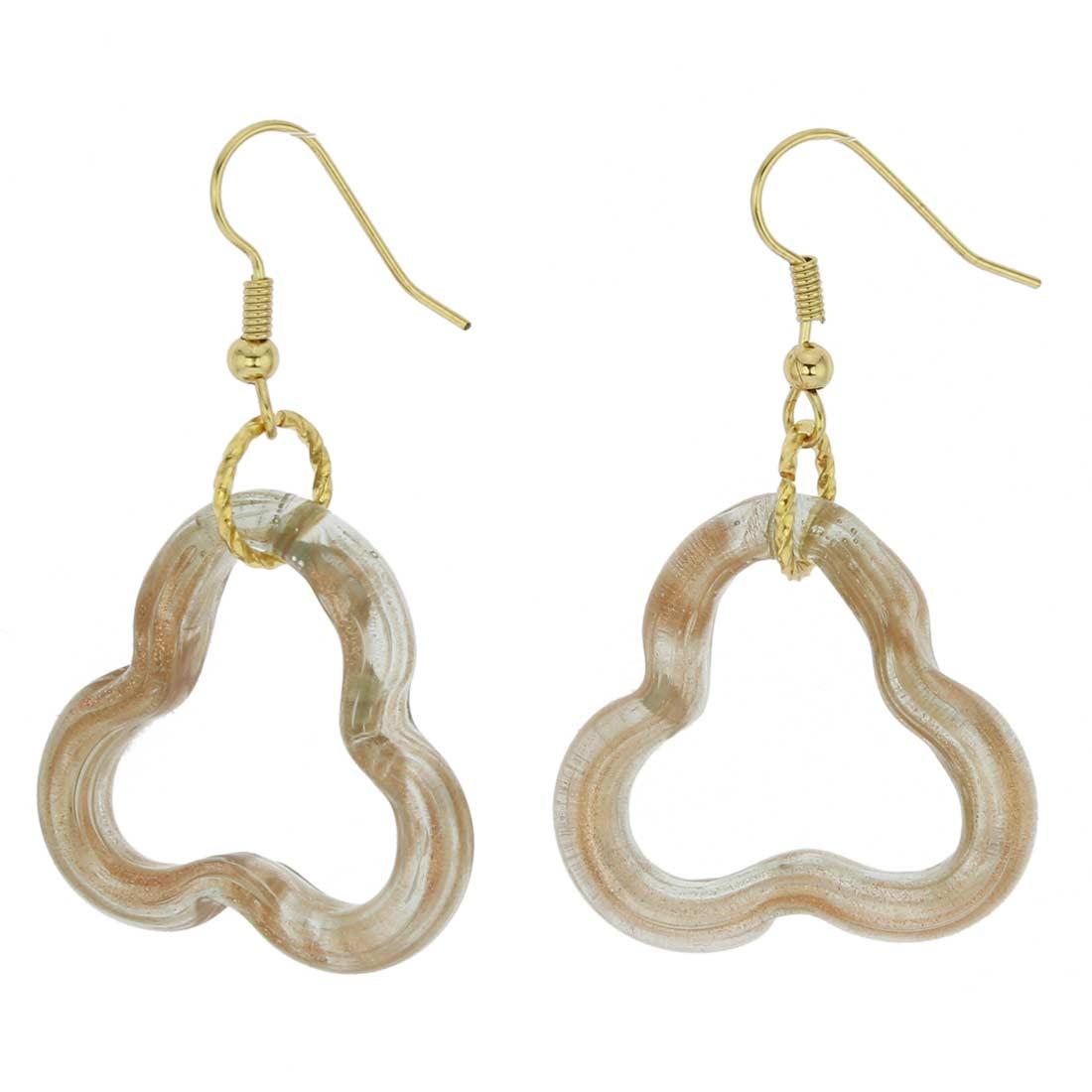 Nicoletta Murano Earrings Topaz