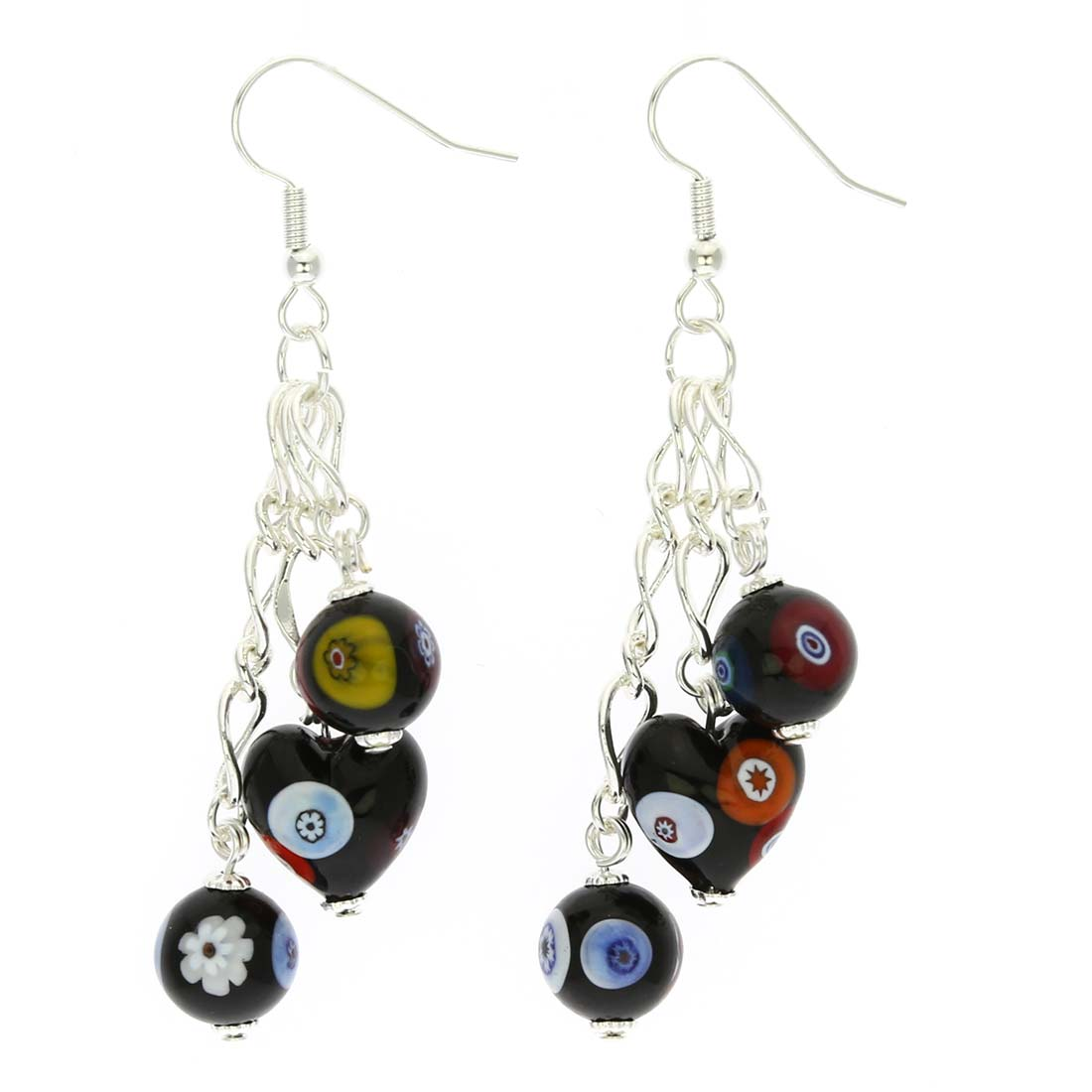 Millefiori Fantasy Earrings