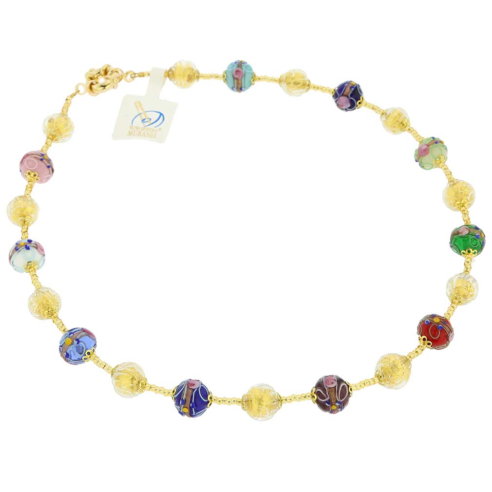 Murano Glass Magnifica Necklace - Multicolor