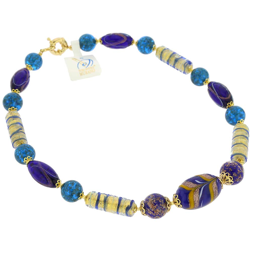 Murano Glass Laguna Necklace