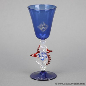 Murano Glass Goblet