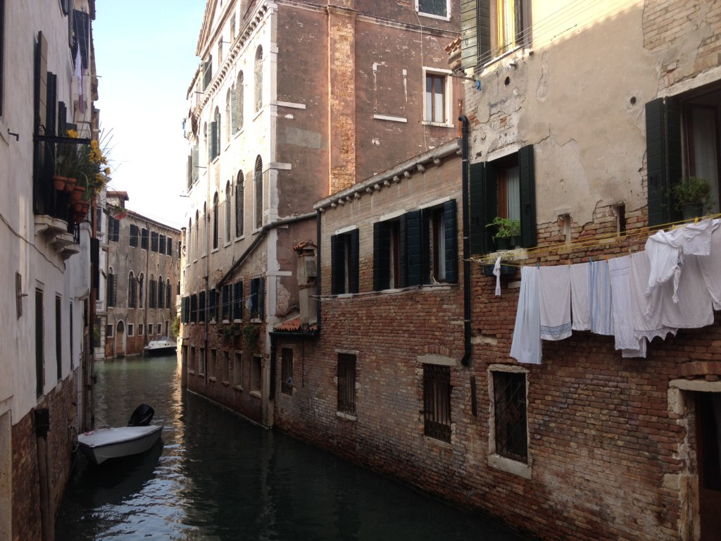 Venice Italy Quiet Canal View