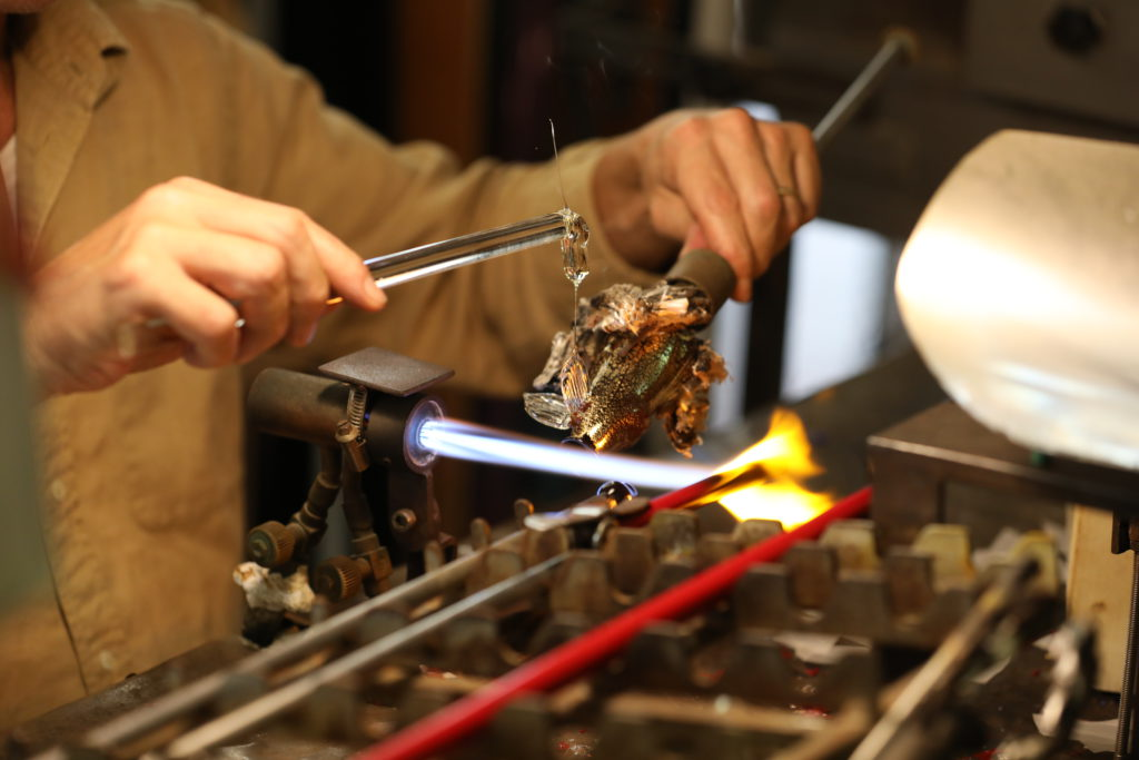 Murano Glass Making Lampworking Technique