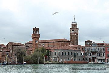 View of Murano, Italy