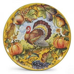 thanksgiving italian plate