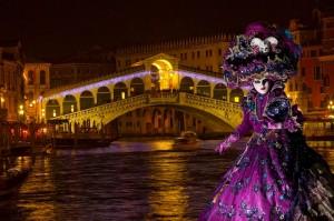 Venice Carnival Rialto