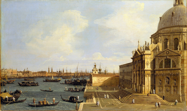 Canaletto Paintings are found in Gallerie dell'Accademia