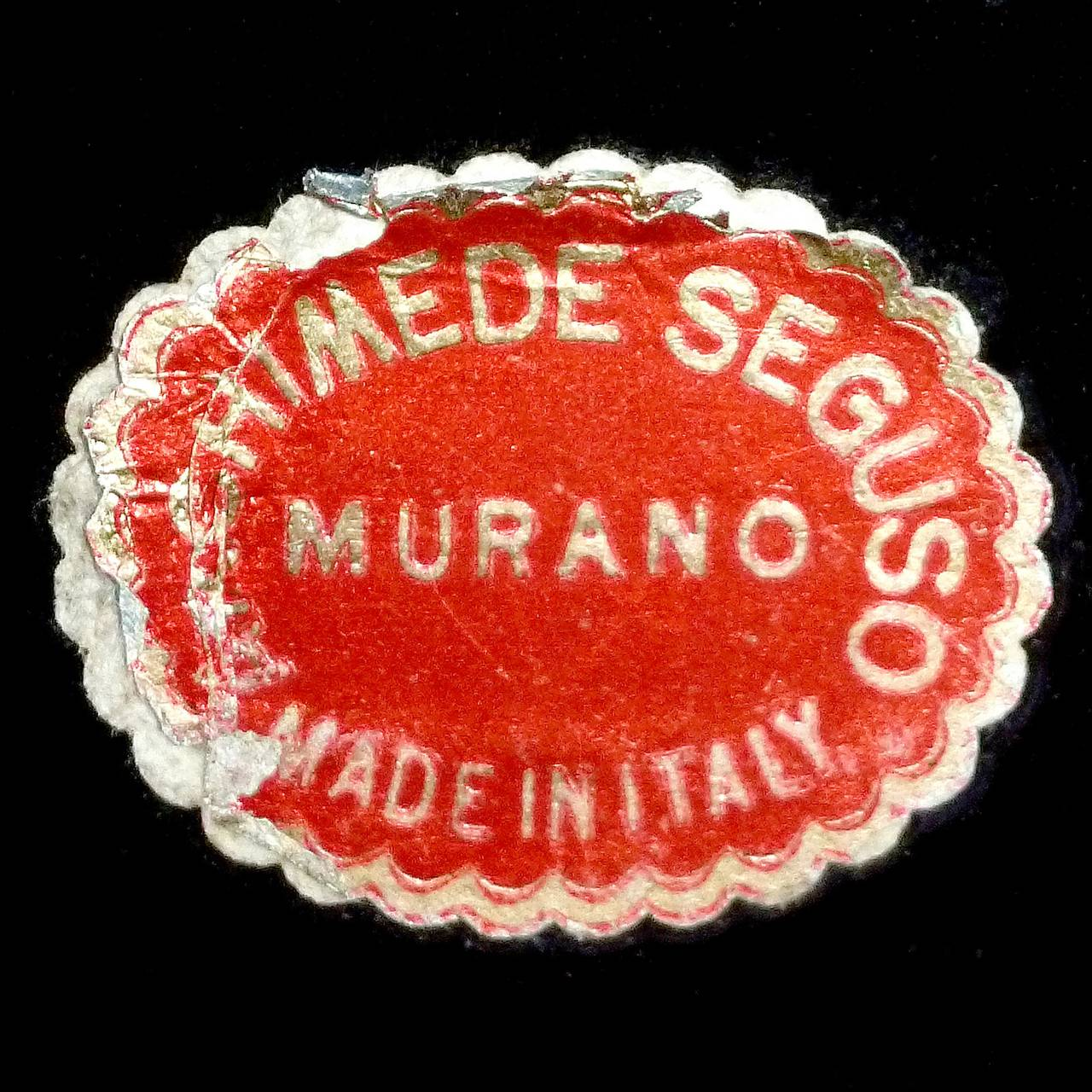 Archimede Seguso Label