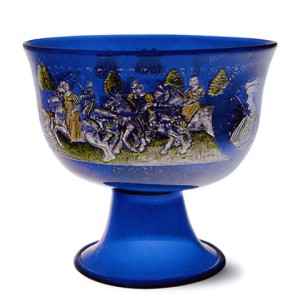 Barovier Wedding Cup Murano Museum