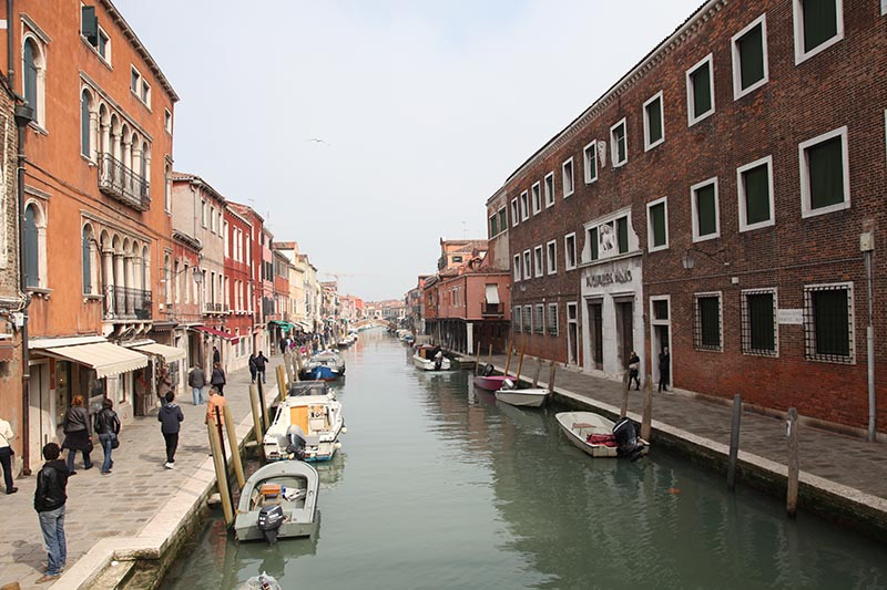 Murano Island View of Canal