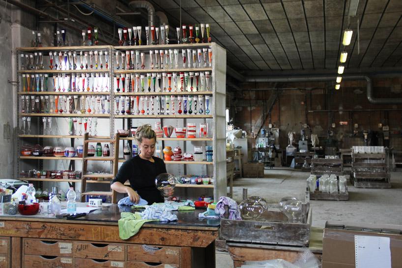 Carlo Moretti Murano Glass Factory