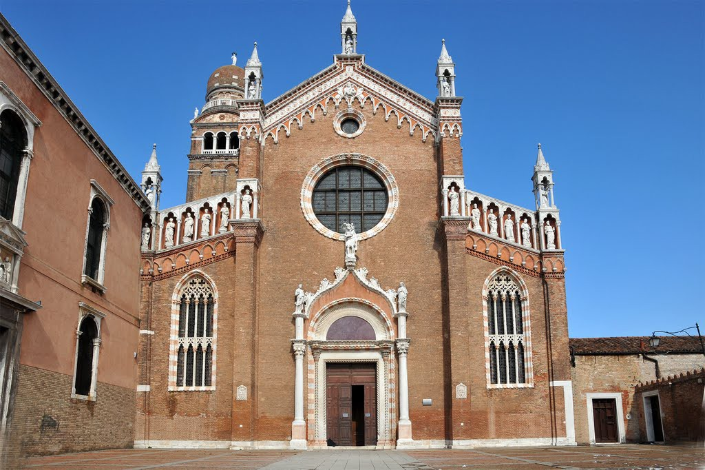Venice Madonna dell'Orto Church