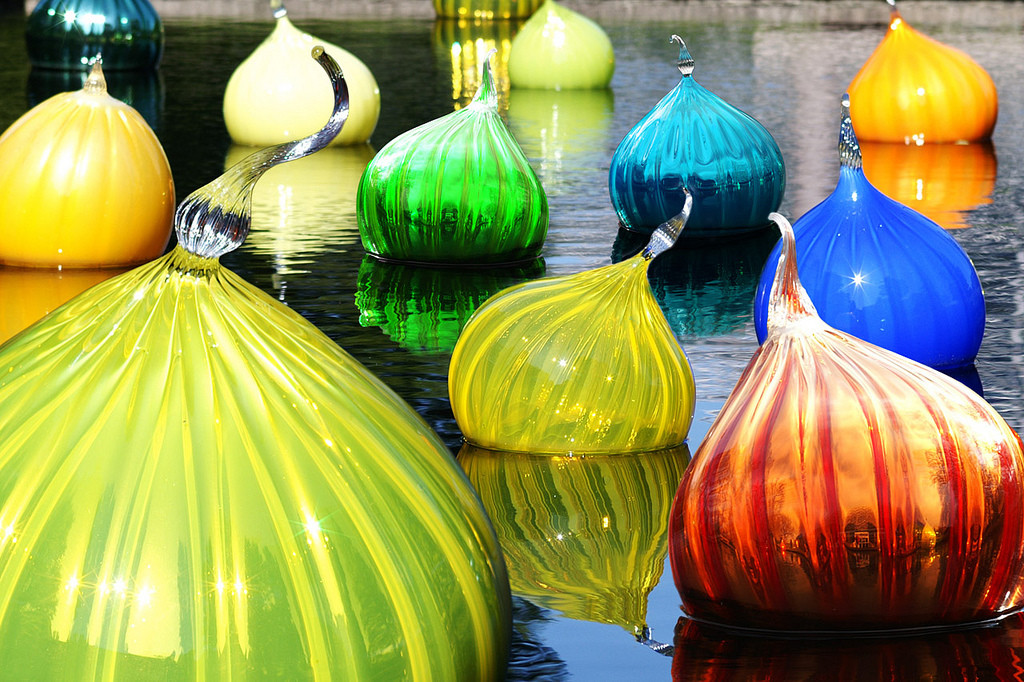 Chihuly Glass Onions