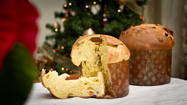 Panettone Italian Cristmas Cake