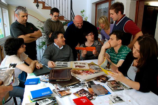 Italian Family Photo