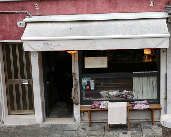 Acqua Stanca  Restaurant Murano Venice