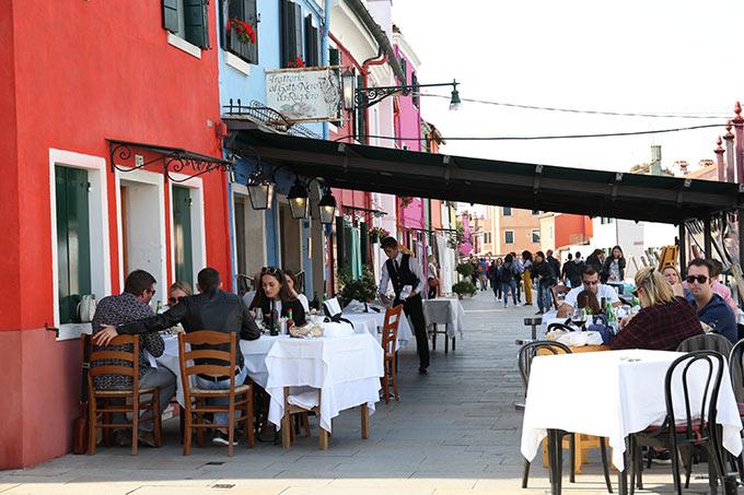 Al Gatto Nero Restaurant Burano Venice