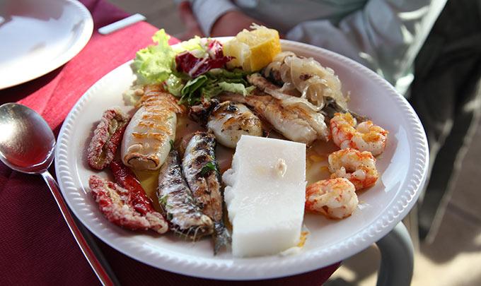 Mixed Seafood Dish Venice