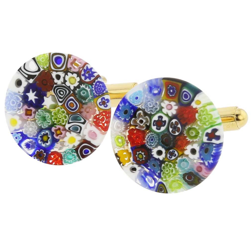 Murano Glass Cufflinks and Mens Gifts