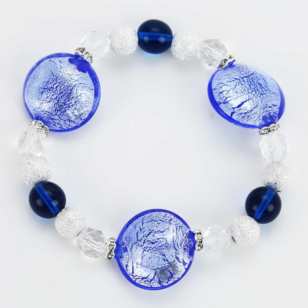 Murano Magic bracelet -aqua