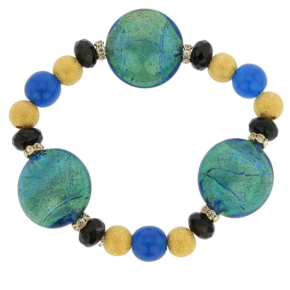 Murano Magic bracelet -blue