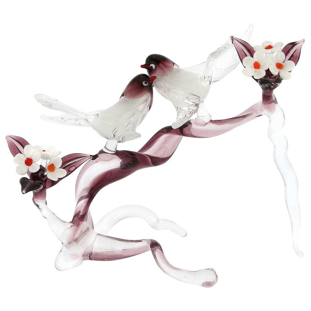 Murano Glass Birds